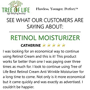 ToLB Retinol Cream Anti Wrinkle Moisturizer - Clinical Strength - Anti Aging Cream Retinol Moisturizer - 1.7 ounce