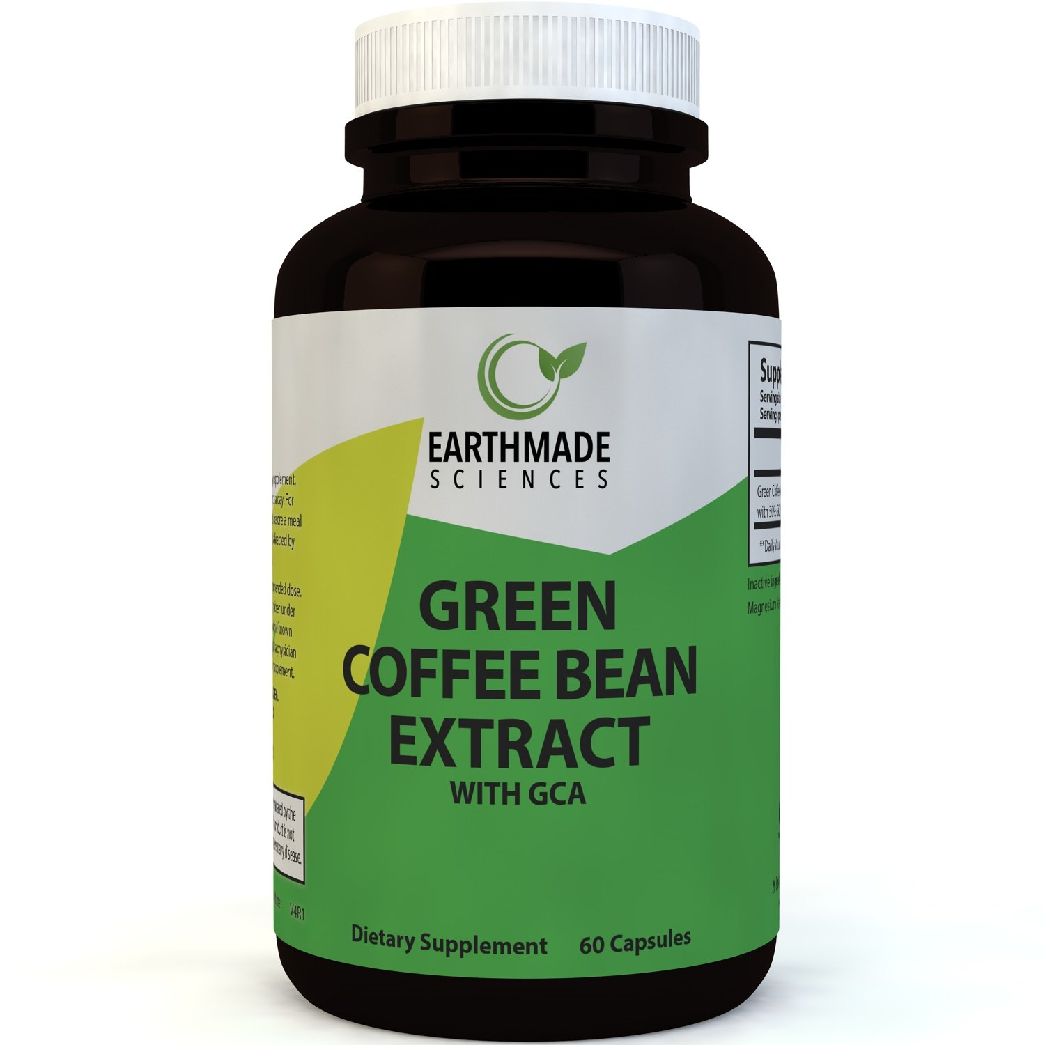 Green Coffee Bean Extract Weight Loss Supplement - Natural ...