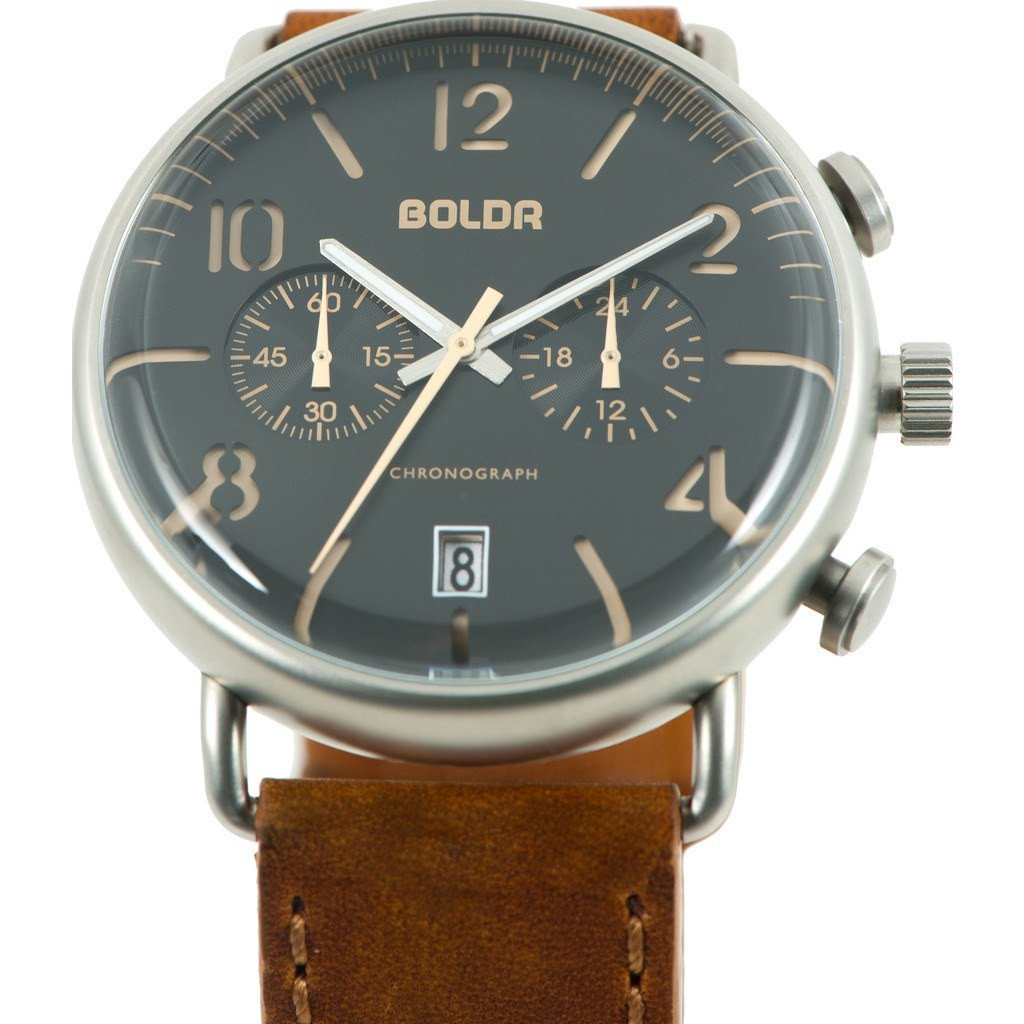 BOLDR Journey Chronograph Watch - Warhawk by Boldr