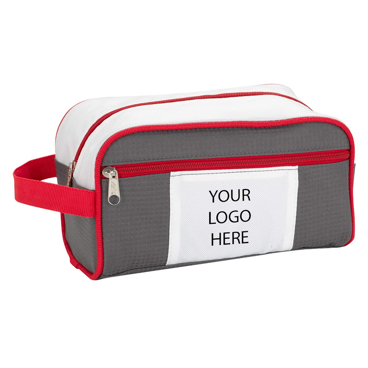 Weston Deluxe Toiletry Bag - 100 Qty - Custom Product Imprinted & Personalized Bulk with Your Customized Logo by Promo Direct