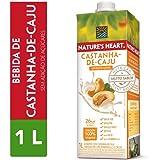 Bebida Vegetal, Natures Heart, Castanha de Caju, 1L