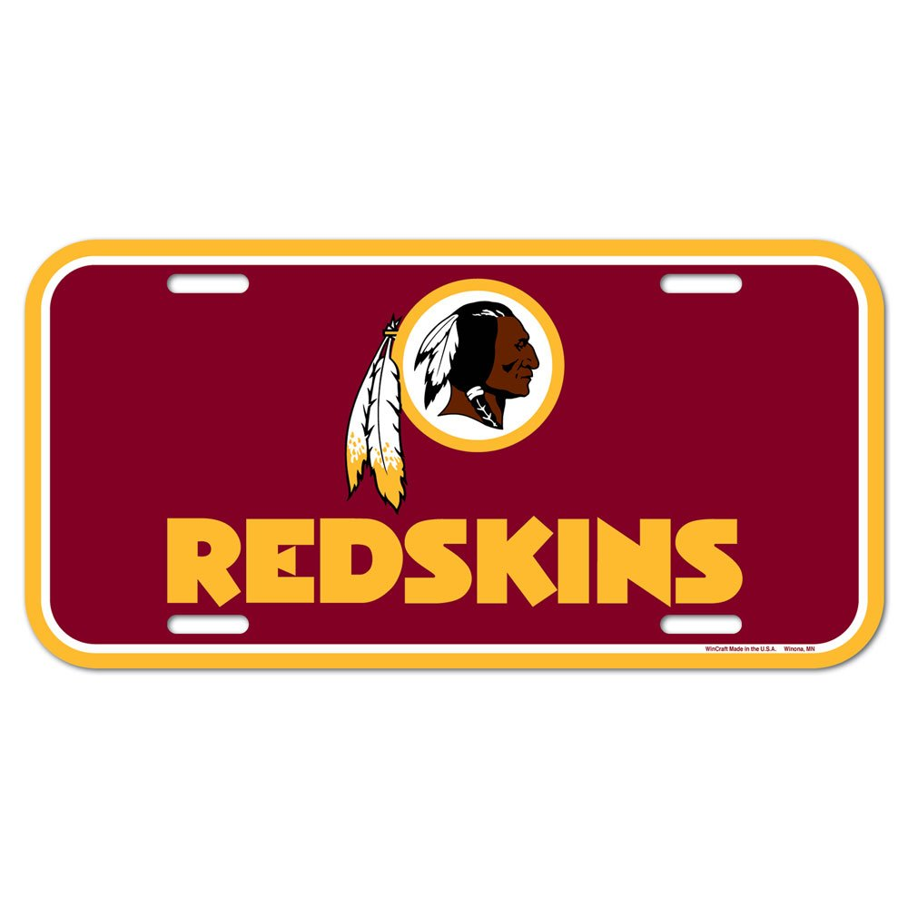 Wincraft NFL License Plate Team Color One Size Caseys-Distributing 84318014