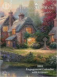Amazon.com: Thomas Kinkade Painter of Light with Scripture