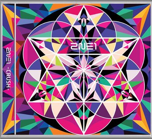 2NE1 2集 CRUSH (ピンク Edition)(韓国盤) 初回限定特典セット 【初回 限定 ポスター 丸めて & 専用紙バッグ & 日本語カナ歌詞(シート&ダウンロードコード)& トレカ & ステッカー & 写真 】韓メディアSHOP購入特典付
