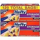 Hefty Slider Storage Bags (Gallon, 120 Count)