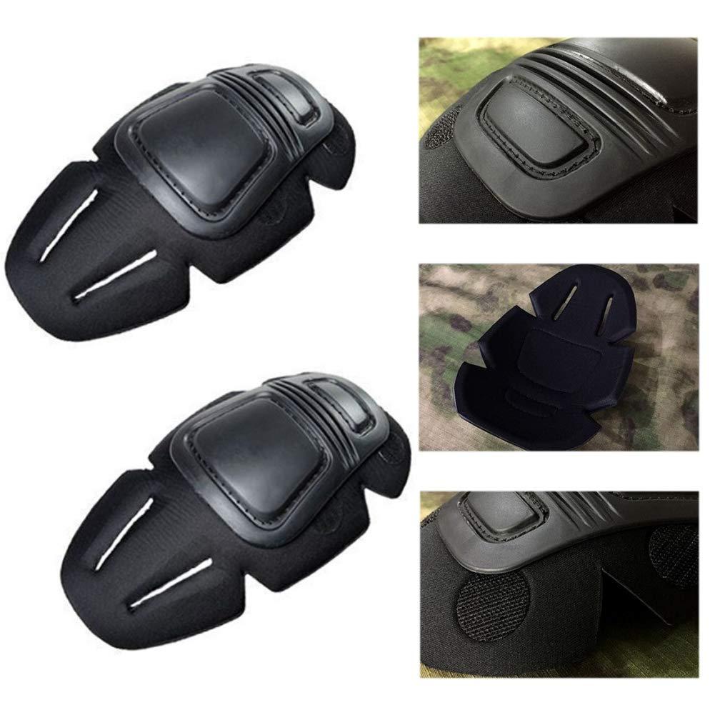 Onetek Paintball Combat G3 Knie und Ellbogensch/ützer Packung Military Army Kniesch/ützer F/ür Military Army G3 Hosen Hosen Tactical Gear