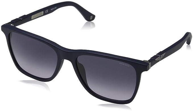 ad26cb2ecc Police Sunglasses Origins 1 Montures de Lunettes, Bleu (Semi Matt Blue/Grey)