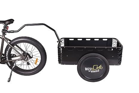 Aluminio de gran Final remolque remolque para bicicleta | bicicleta de duradero y ligero de carga