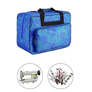 Amazon.com: Bolsa de transporte para máquina de coser, bolsa ...