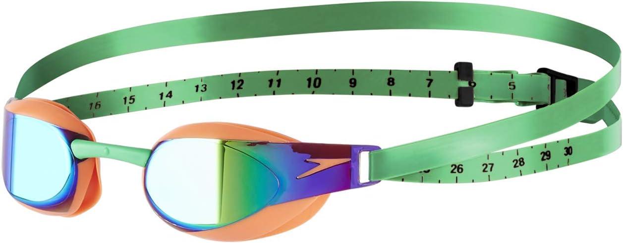 Speedo-Goggles-Fastskin Elite Mirror Goggle-Orange-