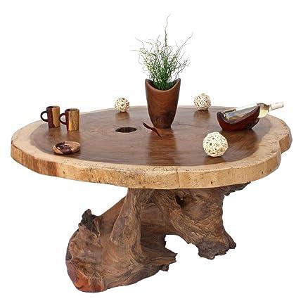 Tavolino da salotto tavolino salotto legno exclusiv rustico ti2562 ...
