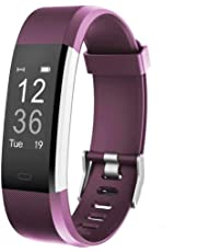 Willful Montre Connectée Femmes Homme Bracelet Connecté Smartwatch Etanche Podometre Enfant Cardio frequencemètre Sport Smart Watch Fitness Tracker d'Activité pour Android iPhone Samsung Huawei Xiaomi