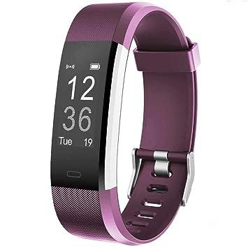 Willful Montre Connectée Smartwatch Podomètre Bracelet Connecté Etanche  IP67 Femme Homme Enfant Smart Watch Cardio Fitness