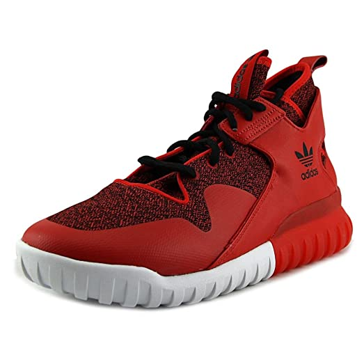 Tubular X Mens in Red/Red/Black by Adidas, 11