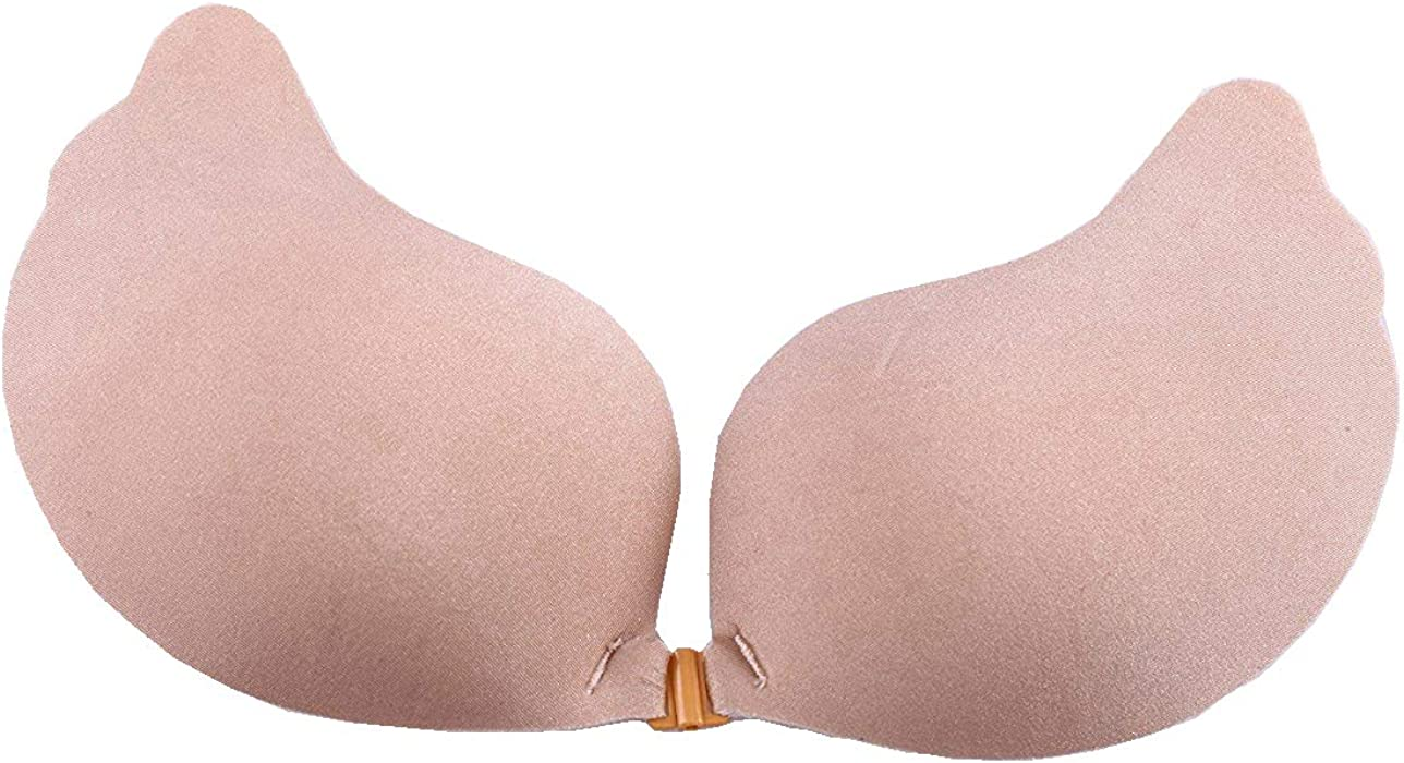 64874d657c ... Underwirebra Pack of 2 Sticky Bra Adhesive Strapless Bra Invisible Push  up Silicone Bra for Backless ...