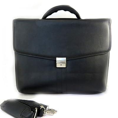 Computer briefcase black lafayette 15.6 (3 folds).