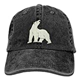 Polar Bear Animal Personalized Baseball Hats Casual Snapback Polo Style Hat For Boys