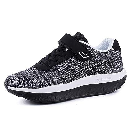 569dbf3a5f896 Amazon.com: ASO-SLING Women's Platform Wedge Sneakers Lightweight ...