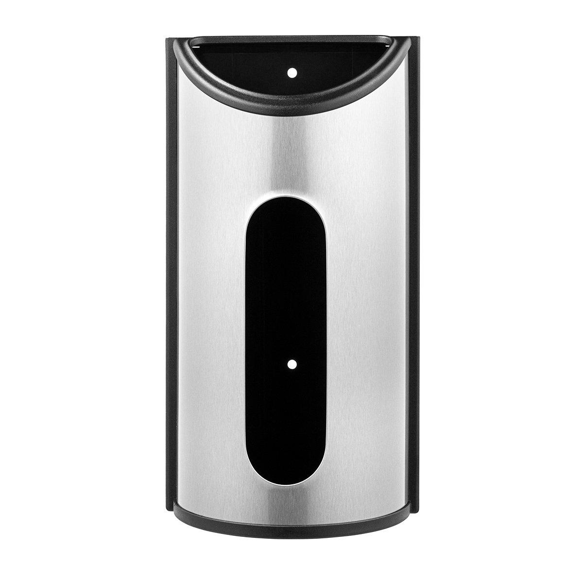 Deppon Stainless Steel Trash Garbage Grocery Bags Organizer Dispenser Saver Holder for Kitchen Lavatory Bathroom