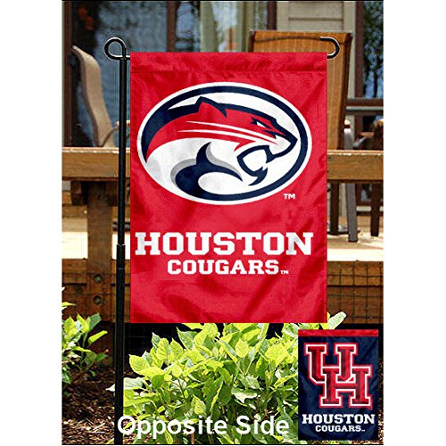 Houston Cougars Garden Flag and Yard - Cougars Garden