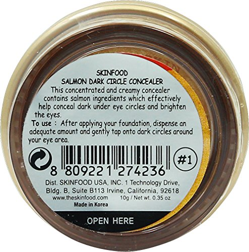 Salmon darkcircle concealer cream #1 (0.35oz/10g)
