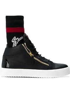 Design Zanotti Herren Sneakers Schwarz Giuseppe Leder Rm90058003 htrsCQd