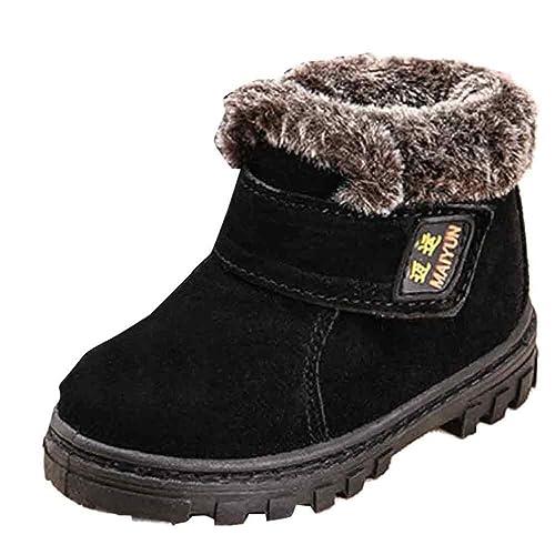 0d8b7380adec37 Kinderschuhe Longra Winter Baby Mädchen Jungen Mode Schneestiefel Winter  Baby Kinder Stil Baumwolle warme Stiefel (