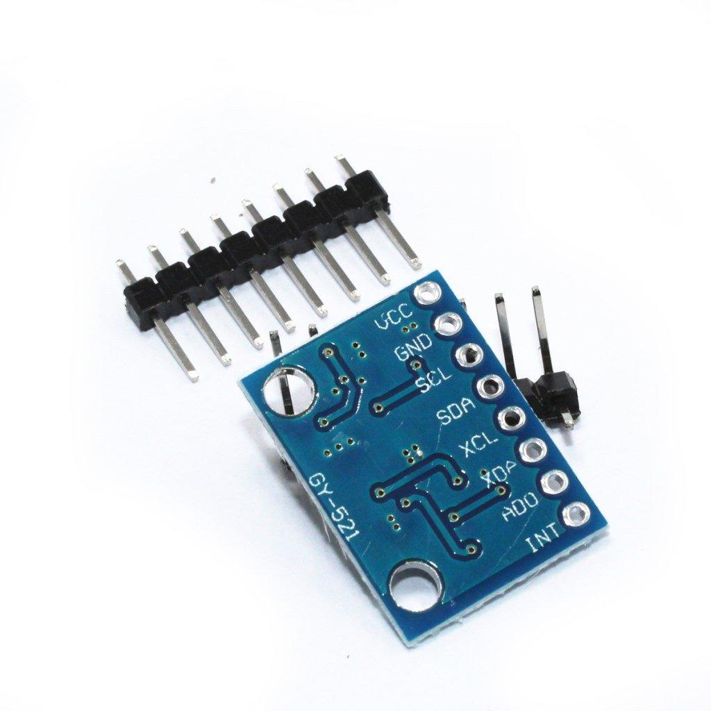 M/ódulo Aceler/ómetro Para Arduino M/ódulo Mpu-6050 6dof Giroscopio De 3 Ejes