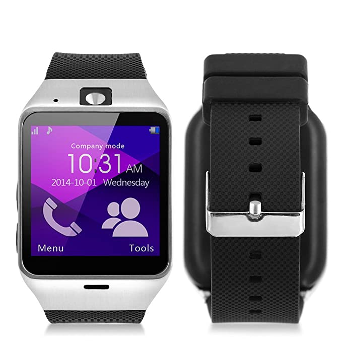 MEMTEQ? Bluetooth Smart Watch-Reloj inteligente 1,54?