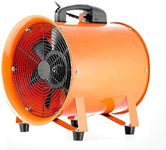 Ventilador industrial de 12 pulgadas, ventilador axial portátil ...