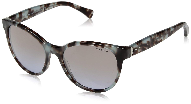 2d93b3feff76 Amazon.com: Ralph by Ralph Lauren Women's 0ra5250 Round Sunglasses blue  tortoise 53.0 mm: Ralph: Clothing