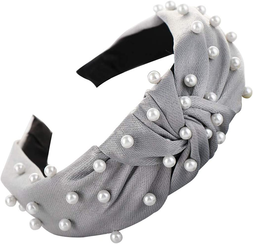 LARNOR Wide Headbands Knot...