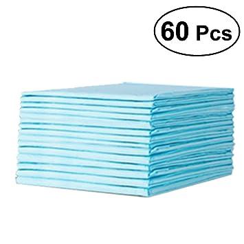 db8c63eac91338 Rosenice Lot de 60 alèses imperméables à usage unique - Protections  absorbantes pour lit, matelas