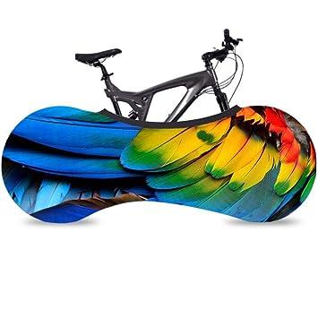 Cubierta protector impermeable bicicleta Monta/ña Carretera polvo Funda para Bicicleta Exterior Guardapolvo el/ástica A Prueba De Protecci/ón Solar Lluvia,para Almacenamiento de bicicleta en Interiores y