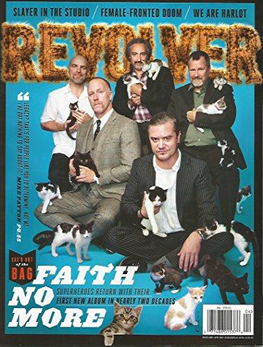 Revolver Magazine (Apr/may 2015) Faith No More Cover 20 Year Album Reunion