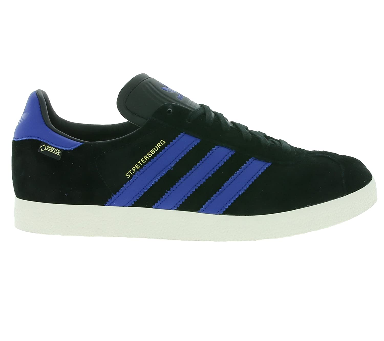 4e0cf58a149 adidas Mens Originals Mens St. Petersburg Gore-Tex Trainers in Black Royal  - UK  Amazon.co.uk  Shoes   Bags