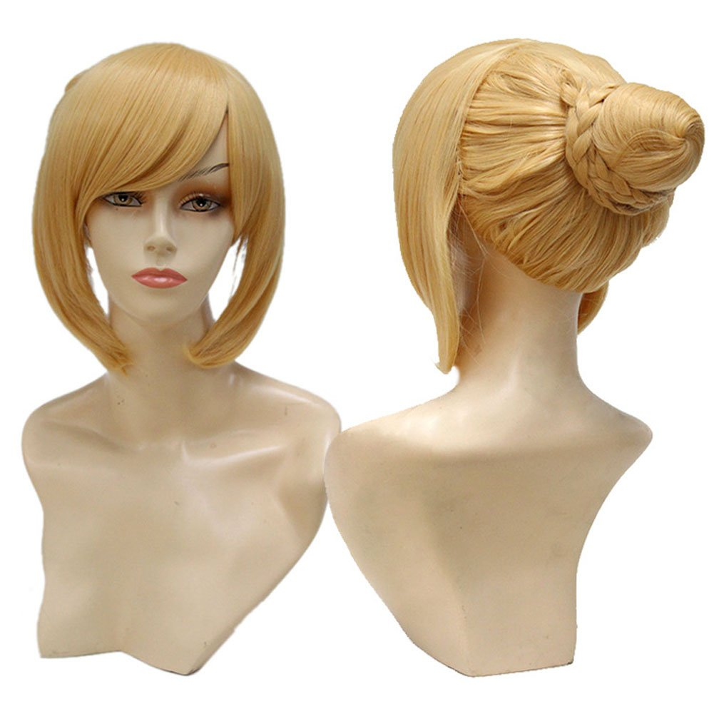 Amazon.com : Prisión Escuela Kangoku Gakuen Meiko Shiraki Cosplay Peluca Cosplay Wig Glod Color Costume Wig Fancy Dress : Beauty