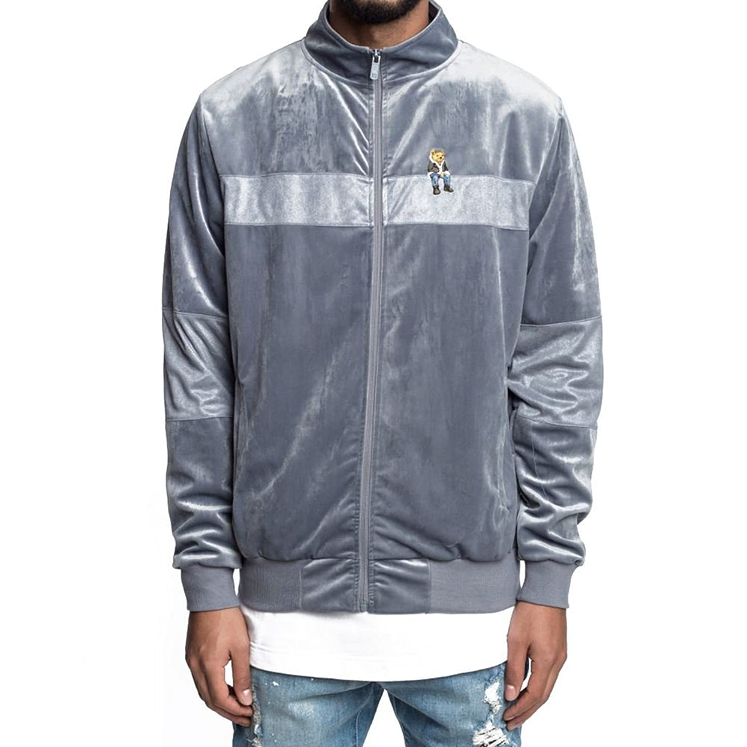 Cayler & Sons Track Top - C&S Wl Chmpgn Drms grey size: XL (X-Large)