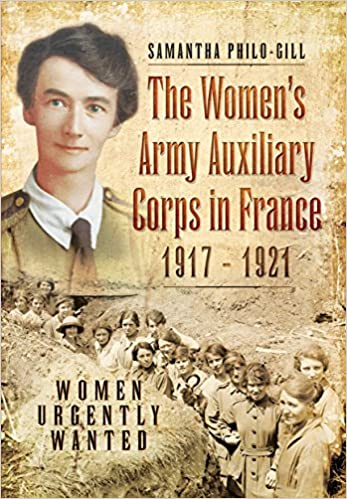 The Women's Army Auxiliary Corps in France, 1917 – 1921 Book Cover