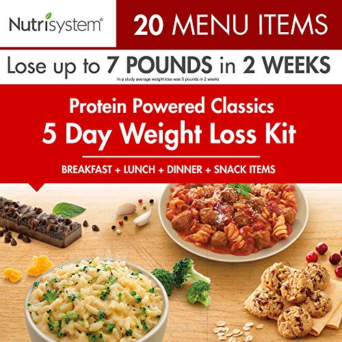 Nutrisystem 5 Day Weight Loss Kit, Protein Powered (7 Meals A Day For Weight Loss)