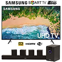 SamsungUN75NU7100 75 NU7100 Smart 4K UHD TV (2018) w/ 5.1 Home Theater System