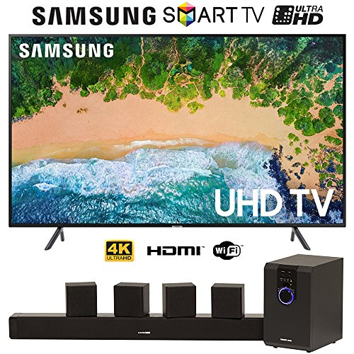 SamsungUN75NU7100-75-NU7100-Smart-4K-UHD-TV-2018-w51-Home-Theater-System