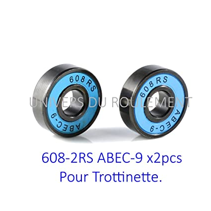 Rodamiento Skate patinete Sk8 608 8 x 22 x 7 ABEC 9 (2pcs ...