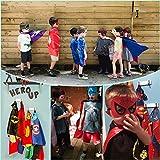 3KINGS Comics Cartoon Dress Up Costumes 4Pcs Capes