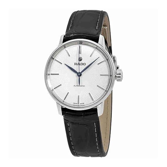 Rado Coupole R22862045 - Reloj de pulsera para mujer, esfera de plata