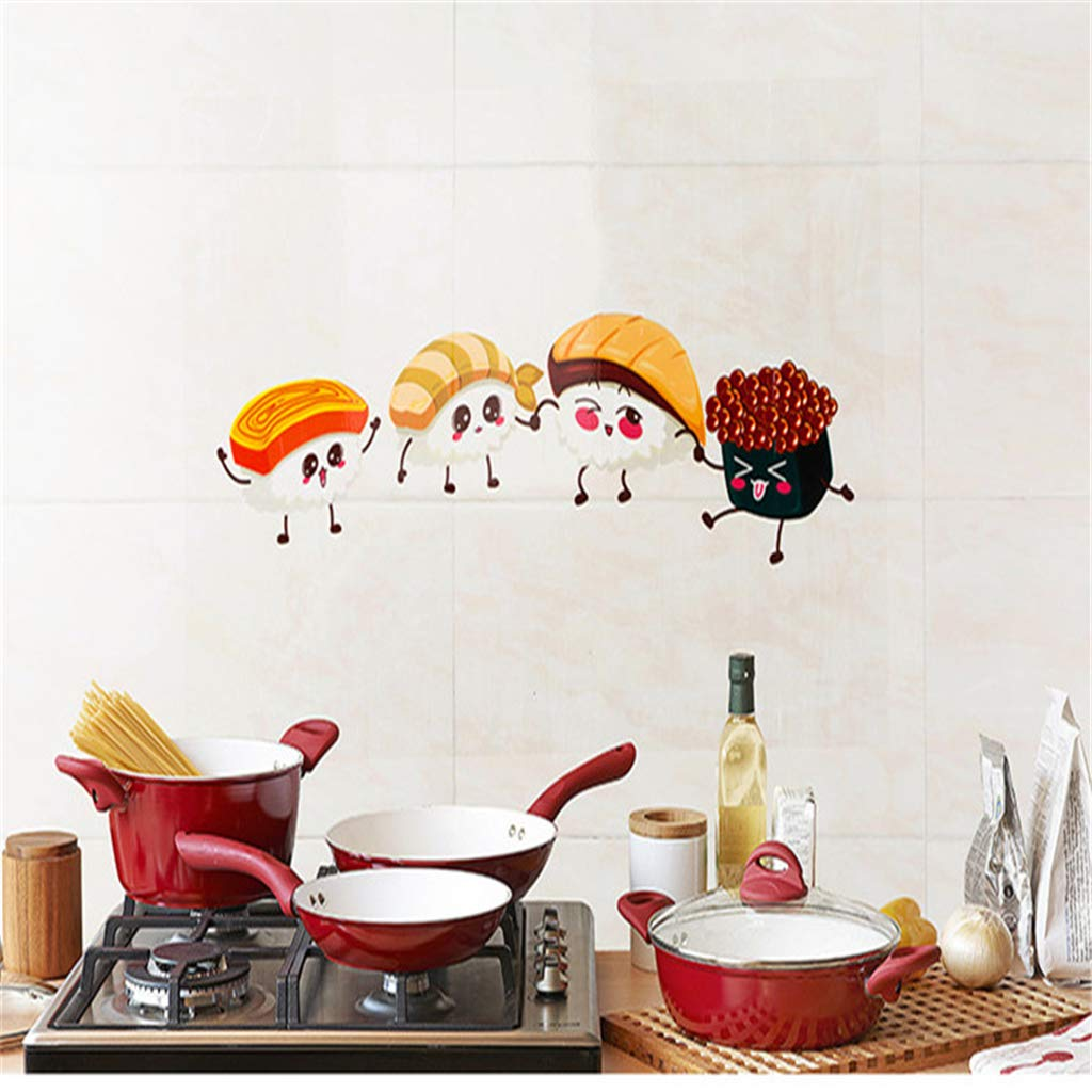 Jeerui Adesivo da Muro paraspruzzi Cucina a Prova di Olio Adesivo da Cucina Adesivo Autoadesivo Resistente al Calore
