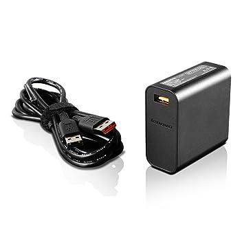 Amazon.com: Lenovo 65 W adaptador de Compter – Viajes de 65 ...