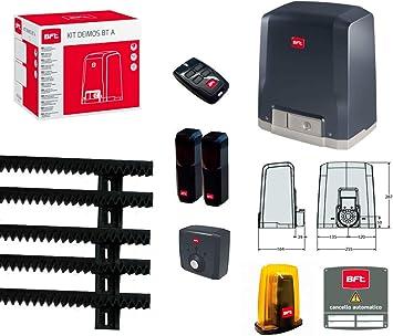 BFT - Kit Deimos BT A400 - Puerta corredera 400 kg R925266 00002 ml 01: Amazon.es: Bricolaje y herramientas