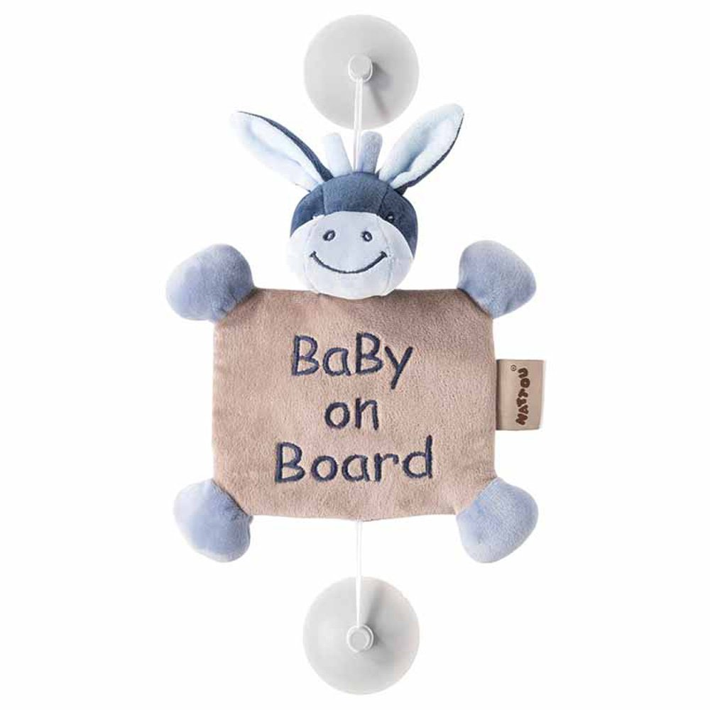 Nattou Baby on Board Sign