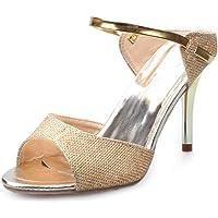 Bobopai Women's Color Fashion Rumba Waltz Prom Ballroom Latin Salsa Dance Shoes Sandals